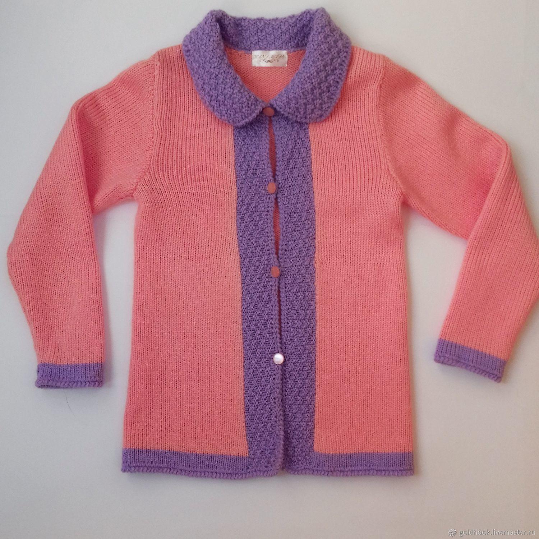 3341bbb9cb9 Кофты и свитера ручной работы. Ярмарка Мастеров - ручная работа. Купить  Кофта для девочки ...
