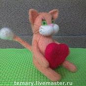 """Куклы и игрушки ручной работы. Ярмарка Мастеров - ручная работа Котенок по имени """"Рыжик"""" Продан. Handmade."""