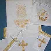 Работы для детей, handmade. Livemaster - original item Set for baptism