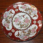 Винтаж handmade. Livemaster - original item Beautiful, vintage, decorative plate Imari(Imari), Japan. Handmade.