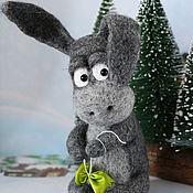 Куклы и игрушки ручной работы. Ярмарка Мастеров - ручная работа Ослик ИА и подарок на день рождения. Handmade.