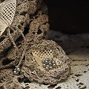 Одежда ручной работы. Ярмарка Мастеров - ручная работа бохо туника изо льна Капризная штучка. Handmade.