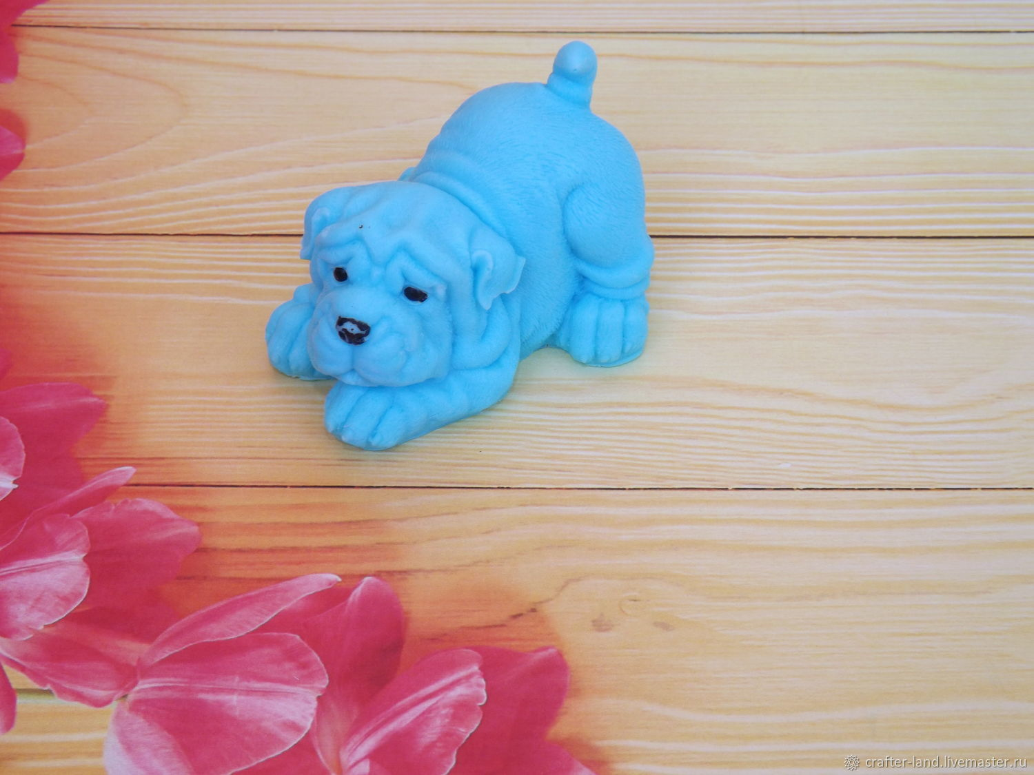 Shar Pei silicone mold (3D), Form, Moscow,  Фото №1