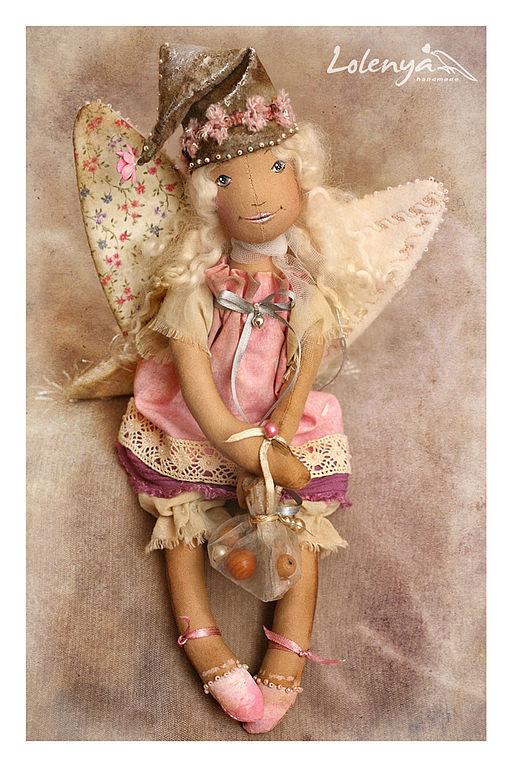 Человечки ручной работы. Ярмарка Мастеров - ручная работа. Купить кукла текстильная Elfynn. Handmade. Эльф, гномик, ольга абакумова