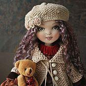 Куклы и игрушки ручной работы. Ярмарка Мастеров - ручная работа Куклы.Текстильная коллекционная кукла Амелия. Бохо стиль.. Handmade.