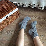 Аксессуары ручной работы. Ярмарка Мастеров - ручная работа Хлопковые домашние носки LussienSocks. Handmade.