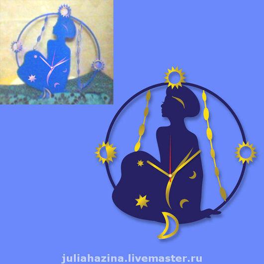 """Часы для дома ручной работы. Ярмарка Мастеров - ручная работа. Купить настенные часы """"Восток"""". Handmade. Часы настенные"""
