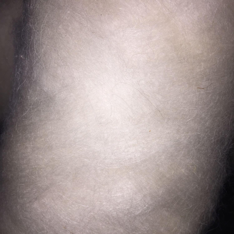 1200 руб/ кг. Микс козьего пуха и овечьей шерсти, Шерсть, Черкесск,  Фото №1