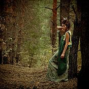 Одежда ручной работы. Ярмарка Мастеров - ручная работа Жилет Forest Owl. Handmade.