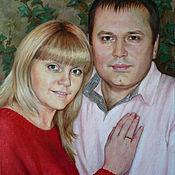 Картины и панно handmade. Livemaster - original item The portrait on the Anniversary. Oil on canvas. Handmade.