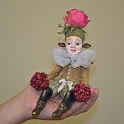 """Портретная кукла ручной работы. Ярмарка Мастеров - ручная работа Коллекционная кукла """"Домашний эльф розочка"""". Handmade."""