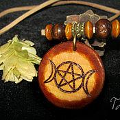 Фен-шуй и эзотерика handmade. Livemaster - original item The amulet, an artifact of the TRIPLE MOON, 31st January, blue bloody Supermoon. Handmade.