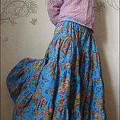 """Одежда handmade. Livemaster - original item Skirt """"Marine"""". Handmade."""