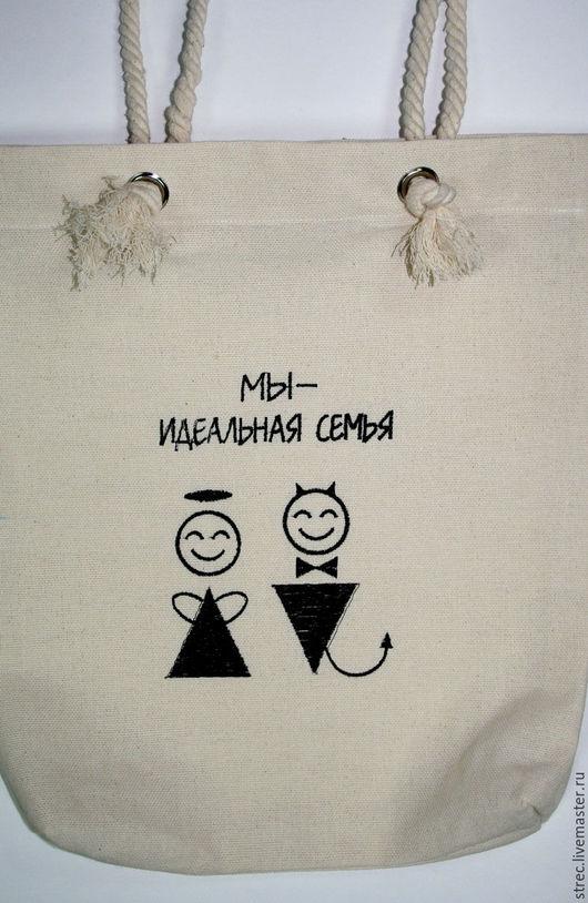 Женские сумки ручной работы. Ярмарка Мастеров - ручная работа. Купить Сумка. Handmade. Бежевый, сумка вышитая, верёвка