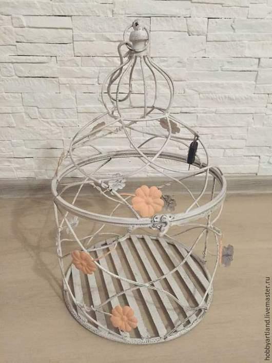 Свадебные аксессуары ручной работы. Ярмарка Мастеров - ручная работа. Купить Декоративная клетка для букета невесты. Handmade. Белый