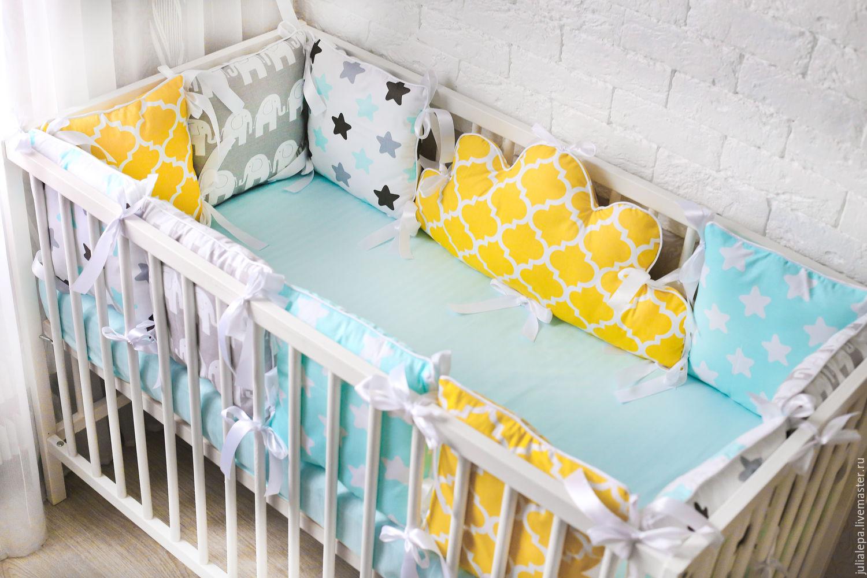 Как сделать детскую кроватку для новорожденных