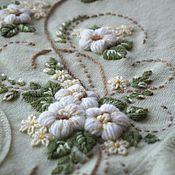 Одежда ручной работы. Ярмарка Мастеров - ручная работа Вышитая кофточка , вышивка на готовой одежде. Handmade.