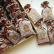 Свадебный салон ручной работы. Ярмарка Мастеров - ручная работа Свадебное Саше. Саше с Лавандой. Шоколад. Handmade.