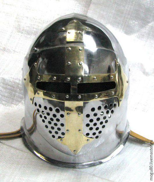 """шлем """"Сахарная голова"""" подшлемник - кожаный парашют"""