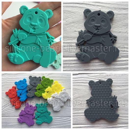 """Развивающие игрушки ручной работы. Ярмарка Мастеров - ручная работа. Купить Силиконовый грызунок """"Панда"""". Handmade. Панда, панда игрушка"""