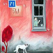 """Картины и панно ручной работы. Ярмарка Мастеров - ручная работа Картина """"дом 71"""". Handmade."""