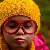 Работы для детей, ручной работы. Ярмарка Мастеров - ручная работа Солнечная осень шапка+снуд. Handmade.