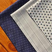Материалы для творчества ручной работы. Ярмарка Мастеров - ручная работа Ткань для пэчворка новогодняя Silver. Handmade.