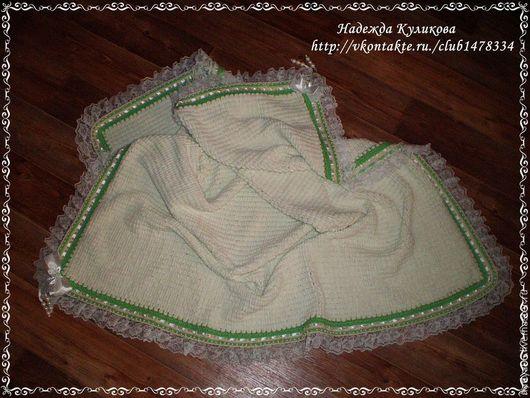Пледы и одеяла ручной работы. Ярмарка Мастеров - ручная работа. Купить Вербушкин плед. Handmade. Плед, плед детский