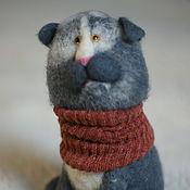 Куклы и игрушки ручной работы. Ярмарка Мастеров - ручная работа Шотландский вислоухий кот Валокордин. Handmade.