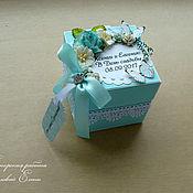 Свадебный салон ручной работы. Ярмарка Мастеров - ручная работа волшебная коробочка для денег (цвет любой). Handmade.