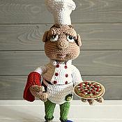 Куклы и игрушки ручной работы. Ярмарка Мастеров - ручная работа Шеф повар Маурицио. Handmade.