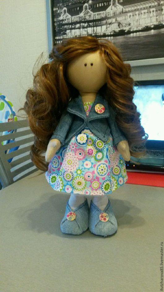 Коллекционные куклы ручной работы. Ярмарка Мастеров - ручная работа. Купить Текстильная кукла на заказ. Handmade. Кукла ручной работы