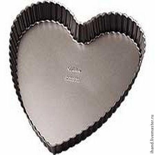 Другие виды рукоделия ручной работы. Ярмарка Мастеров - ручная работа. Купить !Метал.форма для выпечки Тарта, в форме сердца: Эксель-элит. Handmade.