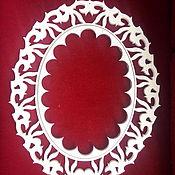 Сувениры и подарки ручной работы. Ярмарка Мастеров - ручная работа Рама овальная. Handmade.