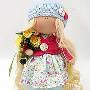 Куклы и игрушки ручной работы. Ярмарка Мастеров - ручная работа Кукла интерьерная Лина. Handmade.