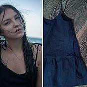 Одежда ручной работы. Ярмарка Мастеров - ручная работа Блузка - топ. Handmade.