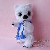 Куклы и игрушки handmade. Livemaster - original item Polar bear Kai knitted toy. Handmade.