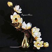 Для дома и интерьера handmade. Livemaster - original item Golden Magnolia Lamp Classic Chic French Luxury. Handmade.