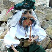 Куклы и игрушки ручной работы. Ярмарка Мастеров - ручная работа Кукла Старый флибустьер. Handmade.