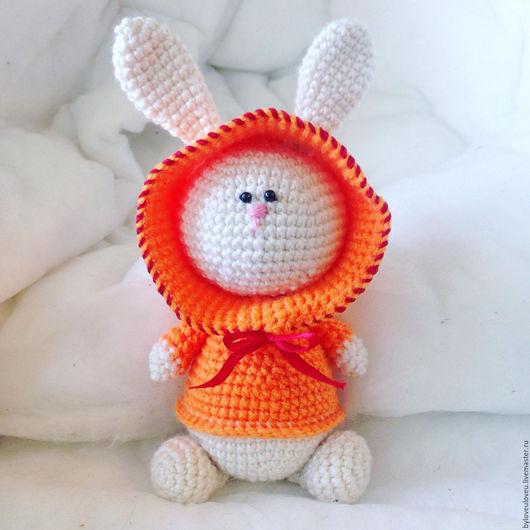 Игрушки животные, ручной работы. Ярмарка Мастеров - ручная работа. Купить Кролик. Handmade. Рыжий, зайка, белый, белый кролик