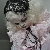 Куклы и игрушки ручной работы. Ярмарка Мастеров - ручная работа Заказ.Старый театр. Пьеретта .. Handmade.