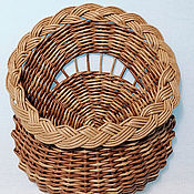 Для дома и интерьера handmade. Livemaster - original item Pockets: 024 Dorbasket, wall basket for small things or dried flowers. Handmade.