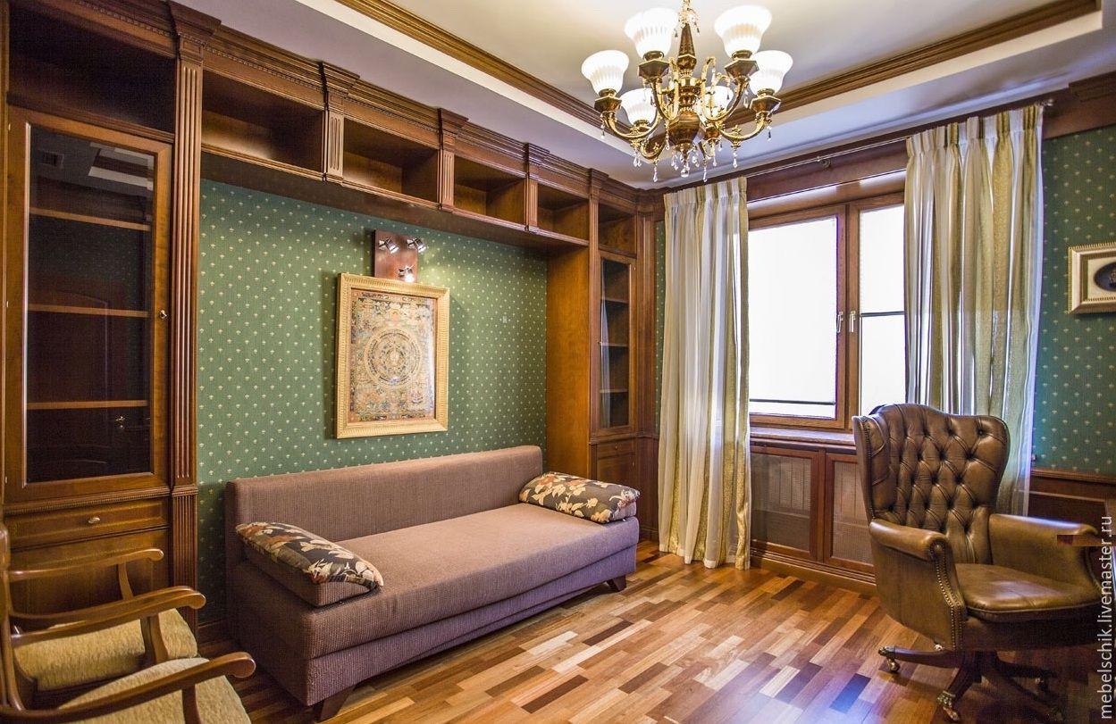 Мебель Респект, шкаф портал из дерева, стол из дерева для кабинета, диван, кресла