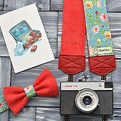 Аксессуары ручной работы. Ярмарка Мастеров - ручная работа Набор Стильный Фотограф Rose / Ремень для фотоаппарата. Handmade.