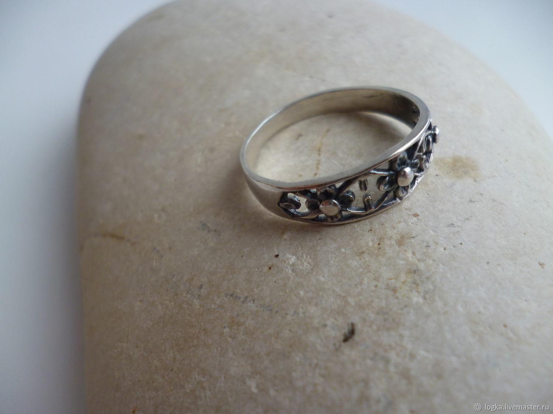 Silver ring (filigree), Rings, Vyazniki,  Фото №1