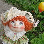 """Куклы и игрушки ручной работы. Ярмарка Мастеров - ручная работа """"Пусть всегда будет солнце!"""" Текстильная каркасная куколка.. Handmade."""