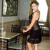 """Одежда ручной работы. Ярмарка Мастеров - ручная работа Платье коктейльное """"Ночная красавица"""". Handmade."""