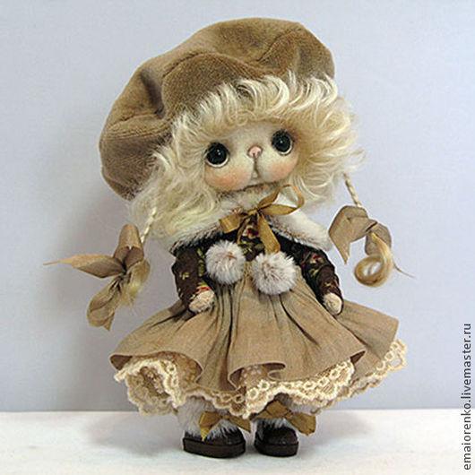Мишки Тедди ручной работы. Ярмарка Мастеров - ручная работа. Купить Колет. Handmade. Бежевый, шерсть, натуральная кожа
