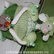 Куклы и игрушки ручной работы. Ярмарка Мастеров - ручная работа мышаня. Handmade.