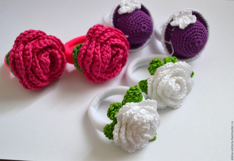 Резинки для вязания цветов